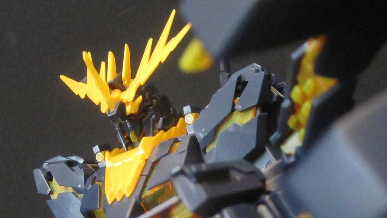Mg Banshee Part 3 Ms Unicorn Gundam 02 Uc Ova Gunpla Model Review