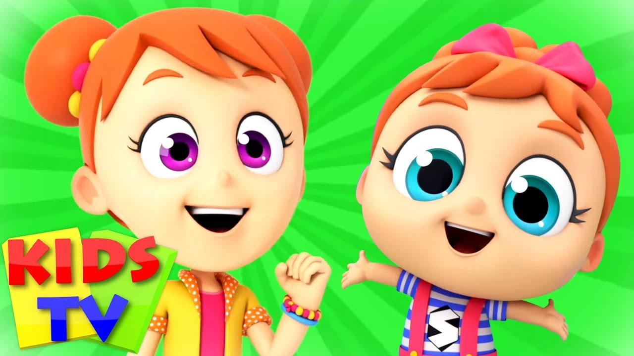 Yes Yes Song   Cartoon Songs & Nursery Rhymes   Super Supremes   Kids Tv