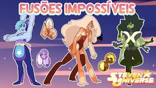 Gambar cover Impossible and unlikely fusions #3 (Steven Universe) [Feat. Ice and Moonstone]