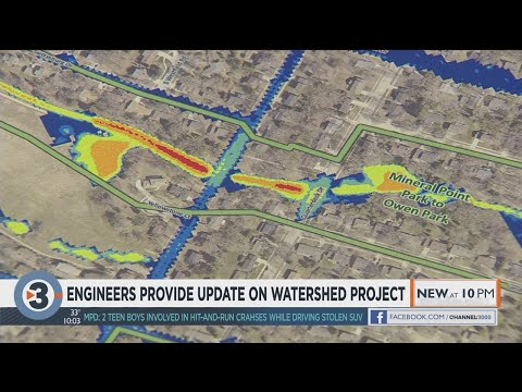 Engineers provide update on watershed project