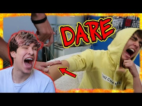THE DARE GAME W/ ROOMMATES