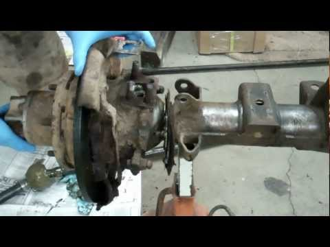 How To Remove A Birfield Joint (The Fast Way) Aka The Camo Method Toyota 4x4 Solid Axle