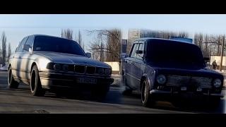 Копейка 16V против Бмв 740