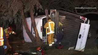 11 23 2017 Roll Over With Extrication SB 57 Orange Fwy