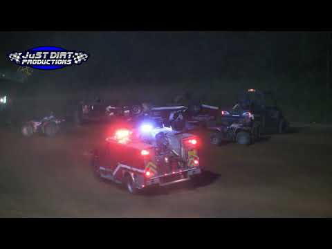 Kevin mitchell Roll Over 8-19-17 Southern Raceway