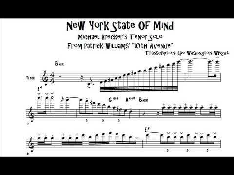 Michael Brecker's tenor solo on