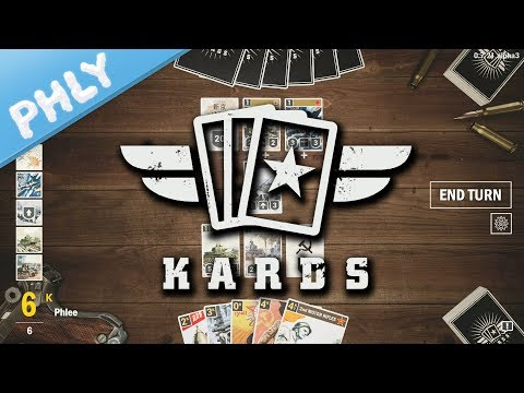 KARDS - New Digital Collectible Card Game IN WW2 (Kards Gameplay)