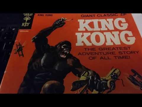 1968 King Kong Comic by Gold Key