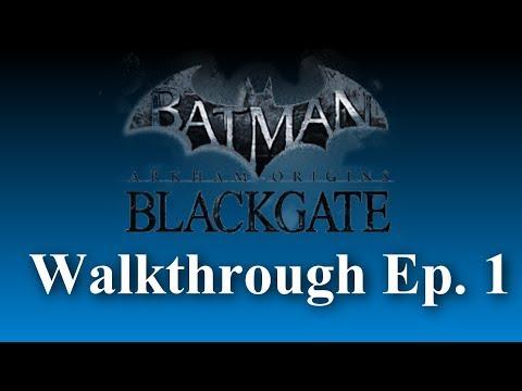 Introduction (Batman: Arkham Origins Blackgate Deluxe Edition Walkthrough) Ep. 1 |
