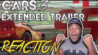 Cars 3 Extended Trailer : REACTION!!