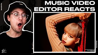 Download Video Editor Reacts to LISA - 'MONEY' PERFORMANCE VIDEO *I WASN'T READY AGAIN*