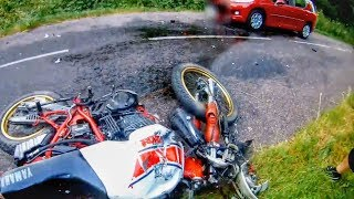 HECTIC ROAD BIKE CRASHES & MOTORCYCLE MISHAPS 2019
