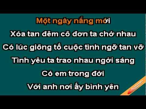 Noi Ay Binh Yen Karaoke - Lam Nhat Tien - CaoCuongPro