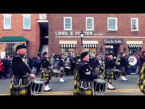 Scottish Christmas Walk - Pipes and Drums Concert  12.3.16 Alexandria, Va