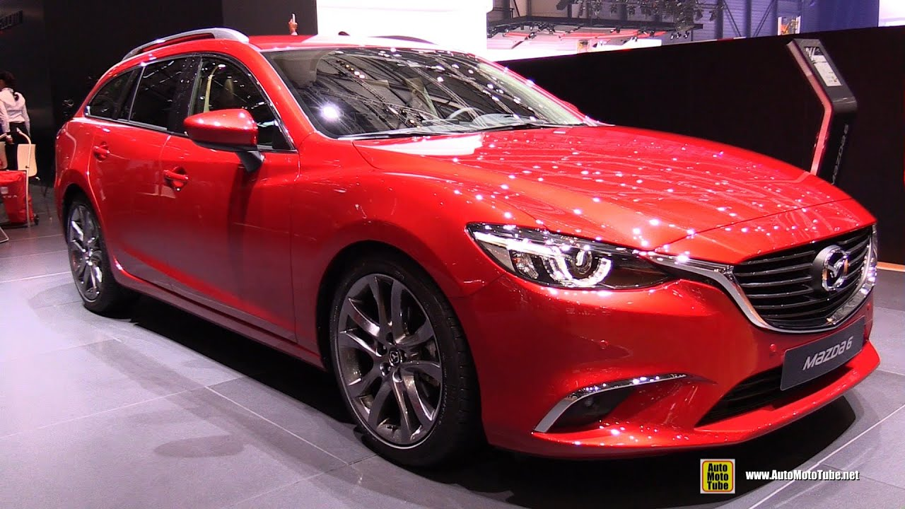 2016 mazda 6 sport wagon diesel awd exterior and interior walkaround 2016 geneva motor show. Black Bedroom Furniture Sets. Home Design Ideas