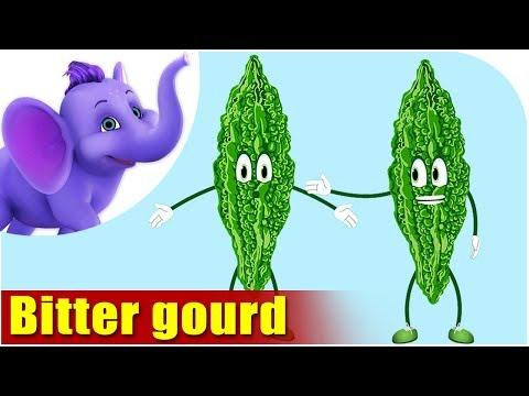 Karela (Bitter Gourd) - Vegetable Rhymes in Hindi