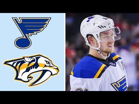 St. Louis Blues vs. Nashville Predators | EXTENDED HIGHLIGHTS | 2/10/19 | NHL on NBC