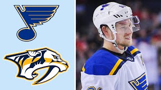 St. Louis Blues vs. Nashville Predators | EXTENDED HIGHLIGHTS | 2/10/19 | NHL on NBC