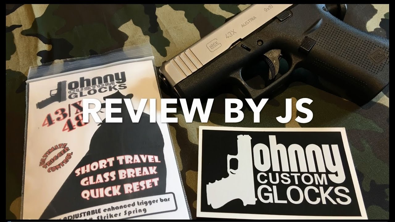 G42/43/43X/48 - Jonny Glocks Drop-in Trigger