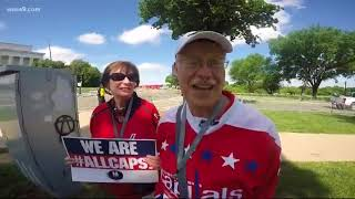 Meet the new and old generation of Caps fans