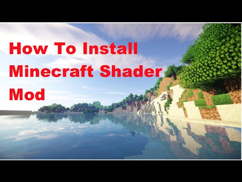 Minecraft pc shaders download