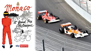 2021 Monaco Historique Race Day | Classic F1 cars race around Monte Carlo!