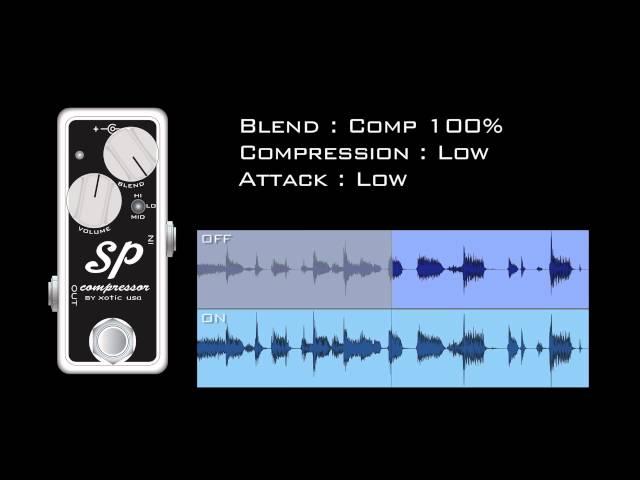 Xotic SP Compressor Demo