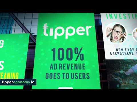 Tipper Revolutionary Ad Model