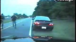 the ultimate police getaway - two angles