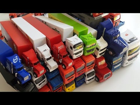 Amazing Trucks Driving Toy Trucks ★ Awesome Toy Trucks ★ Toy Trucks for Kids