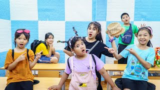 Kids Go To School   Chuns And Friends Learn Math Lovely Girl
