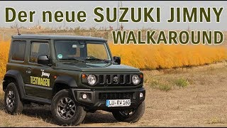 Der neue Suzuki Jimny 2018/2019 - Walkaround - Jetzt Probe fahren & testen