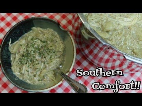 Chicken & Pastry ~ North Carolina Style ~ Chicken & Noodles Recipe ~ Comfort Food ~ Noreen