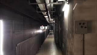 北京地下鉄6号線花園橋駅と車内〈留学で見た中国〉 2018.8~9