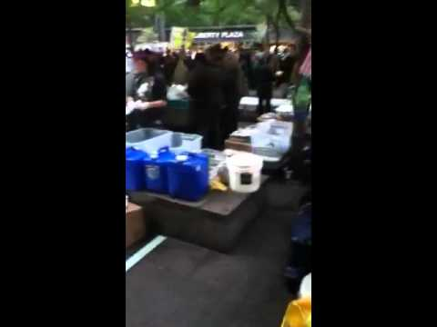 Food center at occupy wall street
