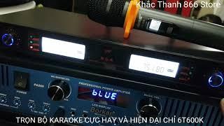 Trọn bộ karaoke hay và hiện đại giá lại rẻ