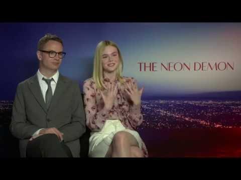 Nicolas Winding Refn and Elle Fanning - The Neon Demon Interview