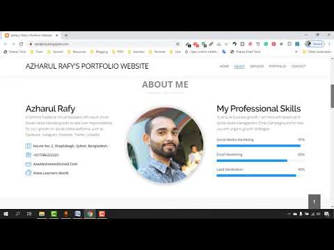 How To Create A Personal Portfolio Website For FREE | Full Step By Step Tutorial