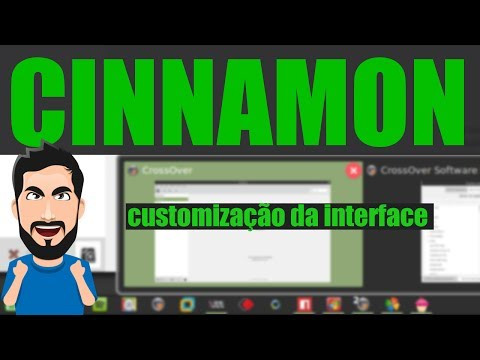 Como CUSTOMIZAR a aparência do Cinnamon Linux Mint