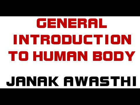 General Introduction to Human Body [ Human Anatomy and Physiology ...