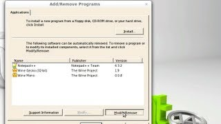 Uninstall or Remove a Program from Wine in Linux Mint