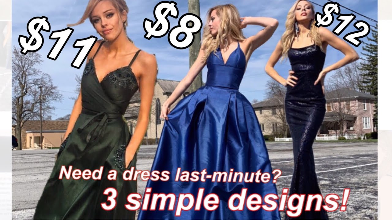 9b101f4b48 How To Make Your Own Prom Dress! (for beginners) - YouTube