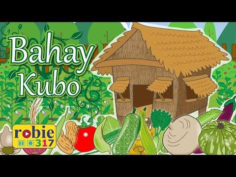 Bahay Kubo Animated 2018 (Awiting Pambata) | Tagalog Folk Song