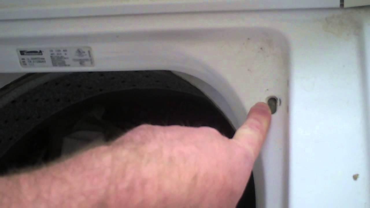 Washer Not Draining Or Spinning Kenmore Series 80 Washing Machine Not Draining Youtube