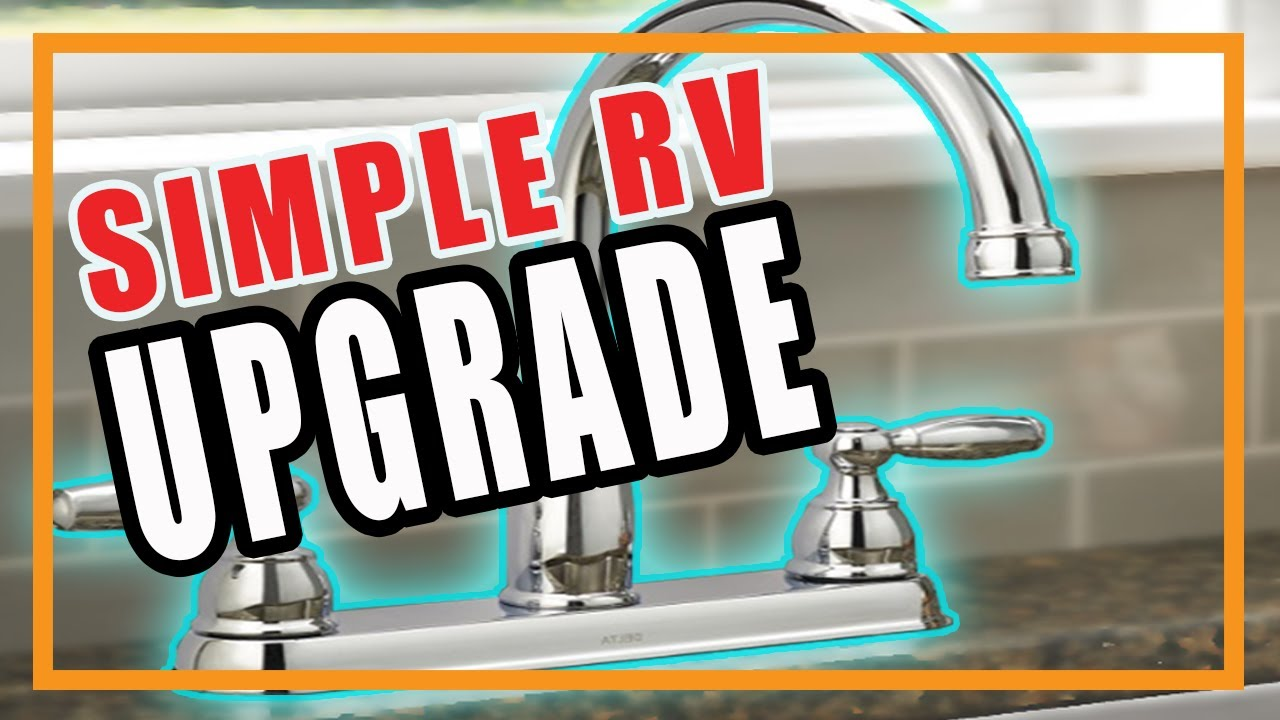 RV Kitchen Faucet   Simple And Easy RV Upgrade #13