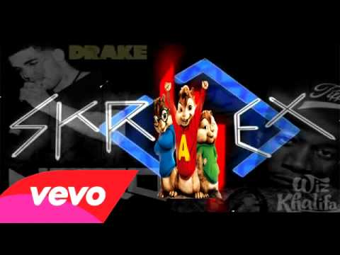 drake ft wiz khalifa skrillex & nero promises  &Alvin the Chipmunk