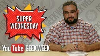 Super Wednesday Highlights with Matt Mira from Nerdist (YouTube Geek Week)