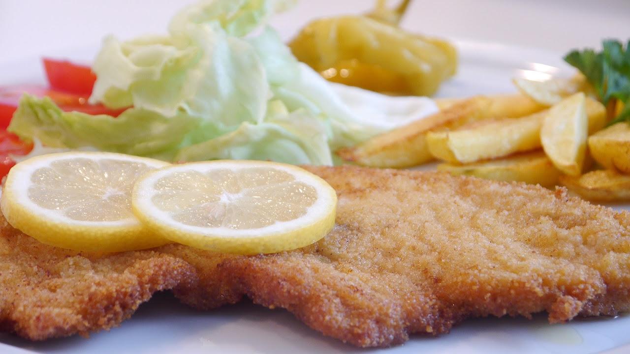 Tavuk Şinitzel Tarifi | Çıtır Tavuk Şinitzel Nasıl Yapılır | Schnitzel Yapılışı