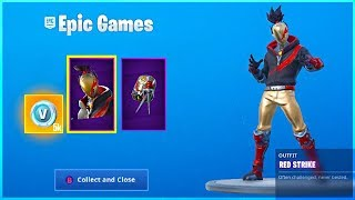 Ich habe RED STRIKE Starter Pack in Fortnite Battle Royale!