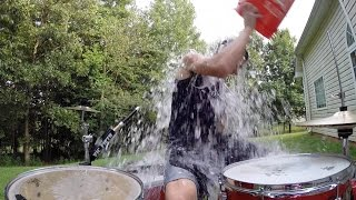 """Ice Ice Baby"" ALS Ice Bucket Challenge (Vanilla Ice Drum Cover) #ALSIceBucketChallenge"